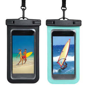 Simple Style Underwater Swimming Phone Bag Waterproof Phone Case