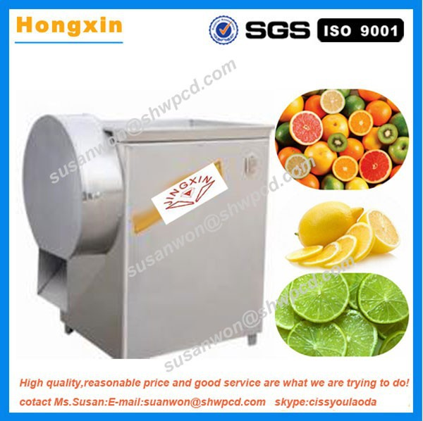 Commercial electric stainless steel fruit rings slicer