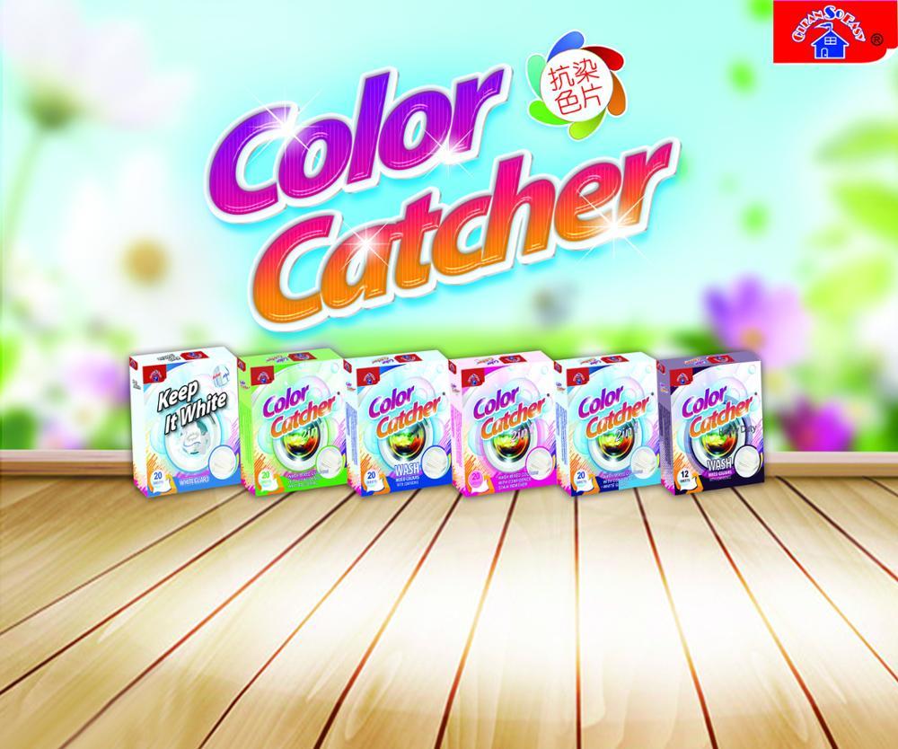 Colour catcher sheets - Cleansoeasy Colour Catcher 12 Sheets Prevents Colour Run Accidents