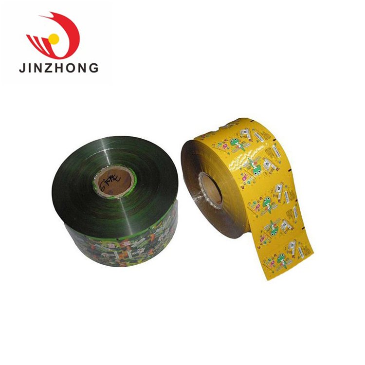 Custom Production Resealable Factory Oem Gravure Printing Packaging Rollstock Film