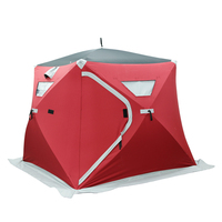 V1553-KD Quick Set Up Ice Fishing Tents Shelter