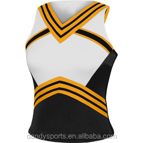 Top Quality Custom Sublimation Cheerleading Apparel , Cheer Uniforms for Girls
