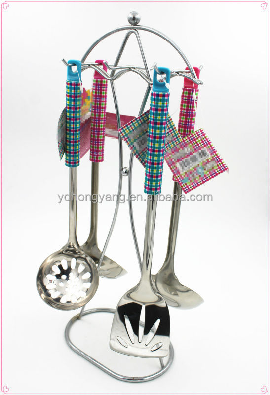 stainless steel kitchen accessories /kitchen tool set with PP handle