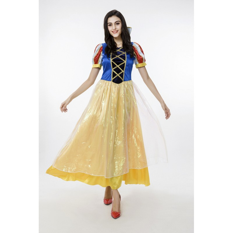 2bcdc5fc929 2015 Sexy Halloween Costumes for Women Adult Carnival Snow White Princess  Dress Cosplay Costumes Birthday Party Dresses PS2
