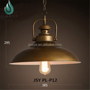 Pendant lamp vintage iron metal hanging light modern