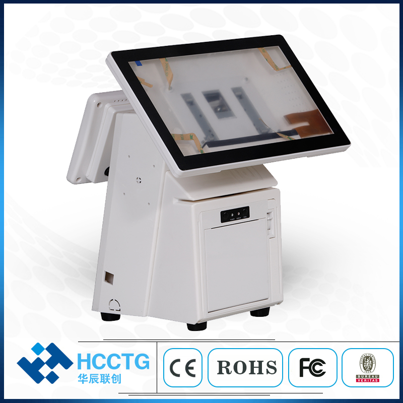 15.6 Inch Main Screen Android  All In One Machine Touch Screen Pos System For Store HKS10-AA