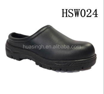 480d96760bed slip resistant microfiber leather comfort safety hotel shoes/clogs without  heel
