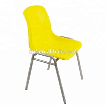 Gelbe Studie Stuhl Kunststoff Stapelbar Stühle Günstige Restaurant