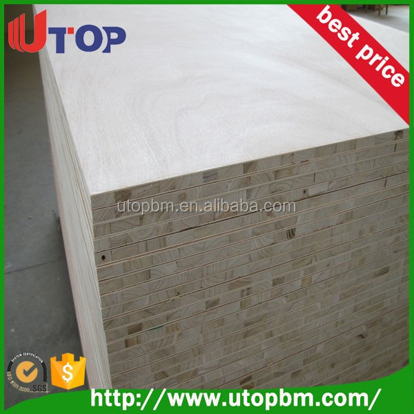 High quality blockboard price from trade assurance supplier