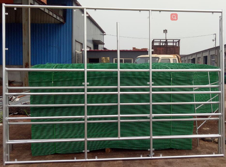 Free Standing Round Pipe Sheep Cattle Livestock Corral