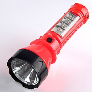 GG-302 4+1 LED rechargeable flashlight torch
