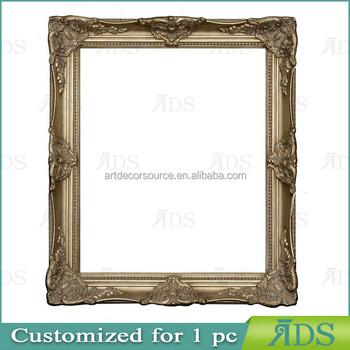 Bulk Large Ornate Gold Baroque Frame Aged Luxury Elegant Rectangle ...