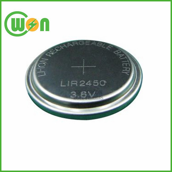 3 7v Battery Small Coin Cells Lir1220 Rechargeable Button