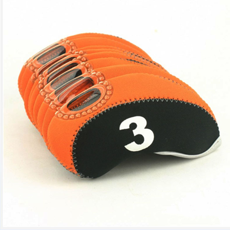 Aangepaste Logo Golf Club Putter Headcovers