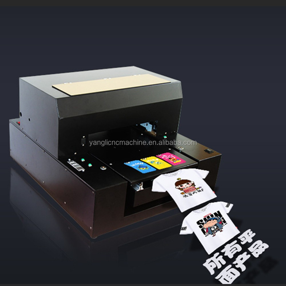 canvas digital label photo textile printing machine with white textile ink