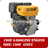 Air cooled 4 stroke single cylinder 400cc engine