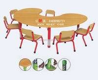 Kindergarten & Nursery furniture,Nursery Round table and chairs, Nursery Teacher Kids Desks Chairs Of Furniture For Nursery Used