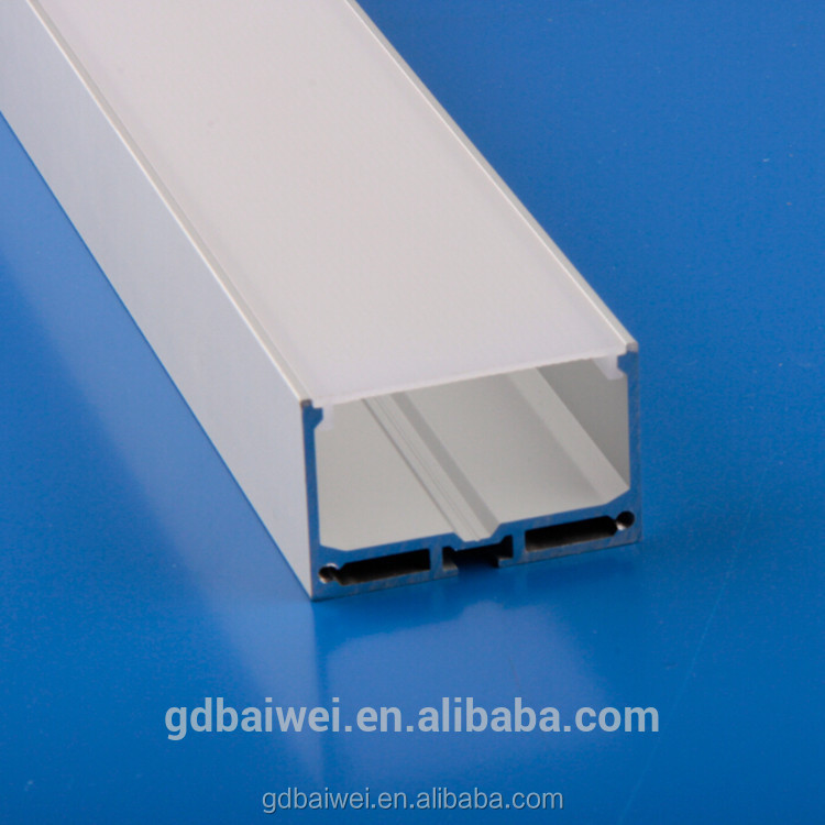 radiator aluminum for led linear light hanging profile housing with factory price