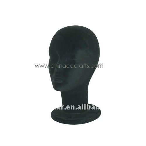 Foam mannequin head for hat display