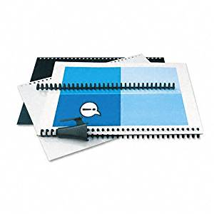 GBC ProClick The Do-It-Yourself Presentation Kit, 0.3125 Inch Spine Diameter, Black, 2 Sets per Pack (2515667)