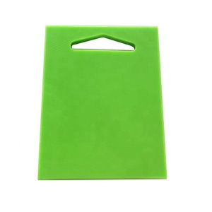 FDA Approved Eco-friendly PE/PP Plastic Meat Chopping Board From China