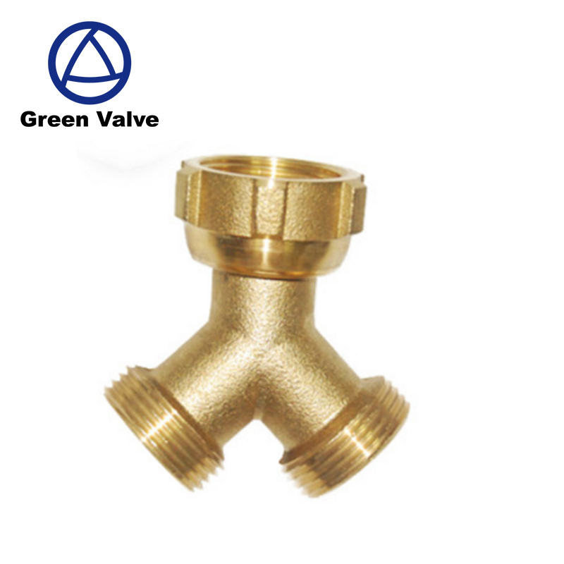 Green Guten-top Yuhuan fitting Provider Y-type lead free material Male*Female connection brass fitting