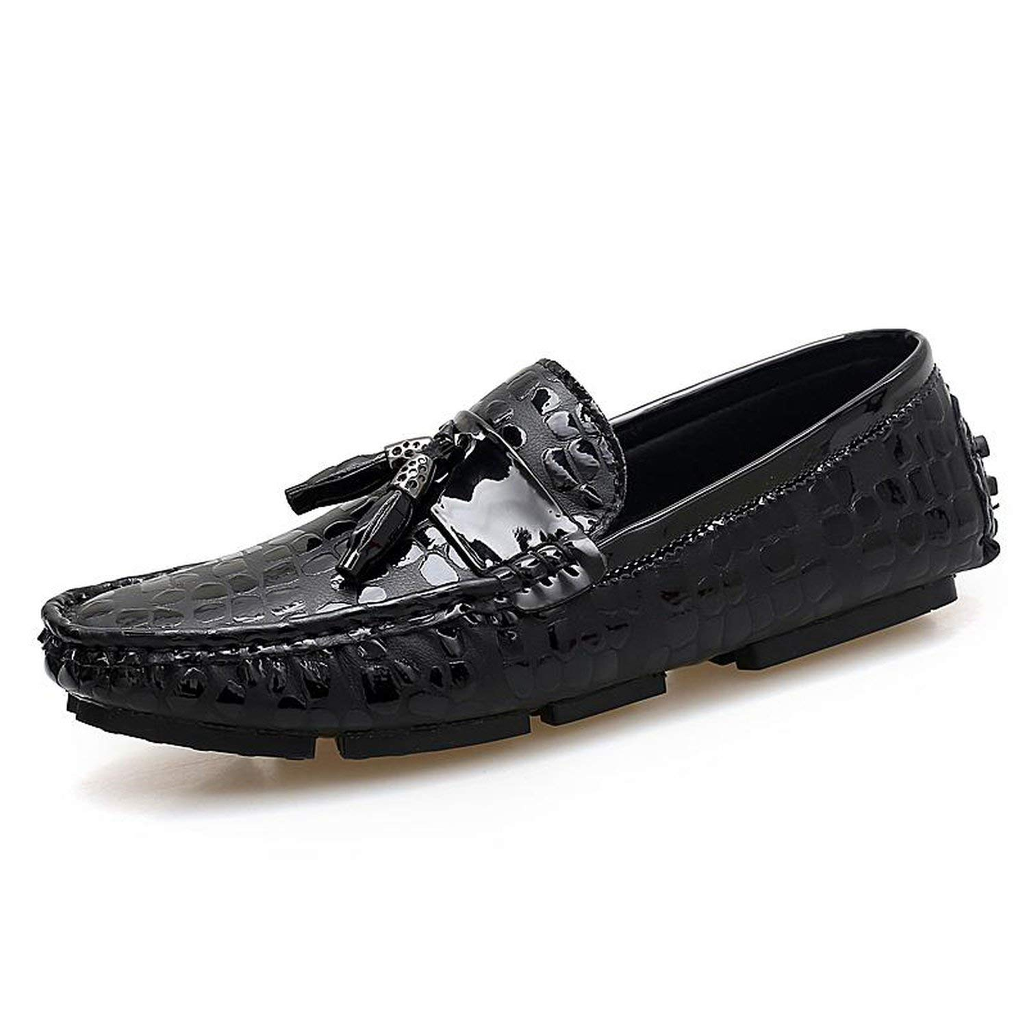 Anieca Men Loafers Shoes Italy Oxfords Business Dress Boat Summer Autumn Shoes Formal Flat Shoes Wedding