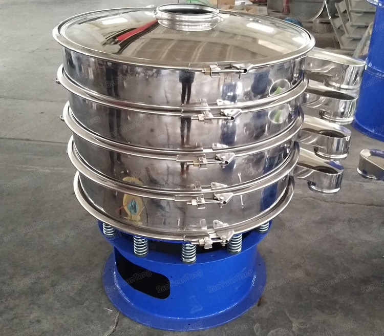vibrating shaker sieve