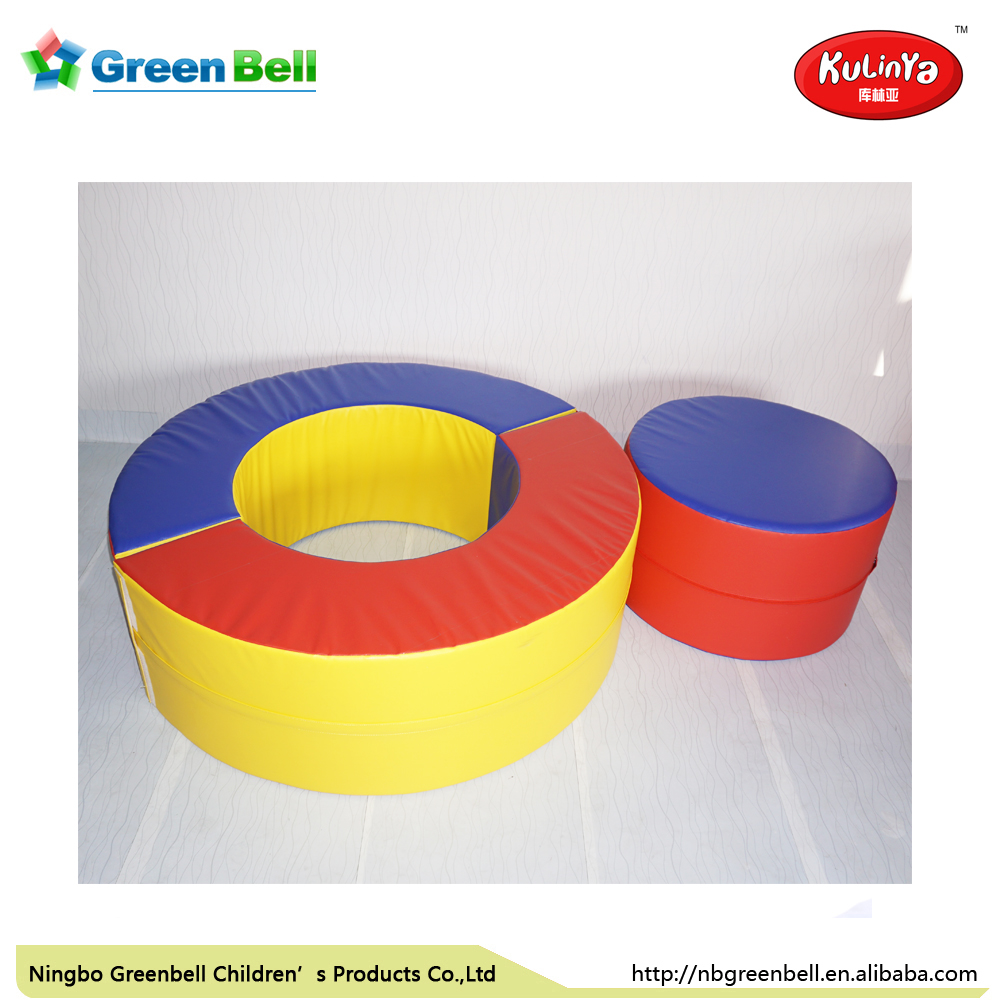Kids New Soft Play equipment Donut Halves for gymnastics Practice indoor