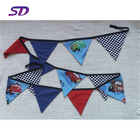 Hot Sale felt pennant flag for Mall/supermarket/ shop /school event