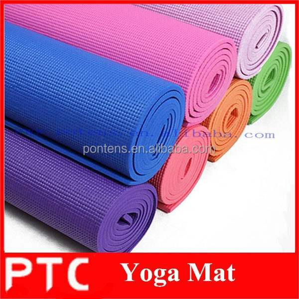 Gym exercise TPE Yoga Mat NBR Yoga Mat PVC Yoga Mat