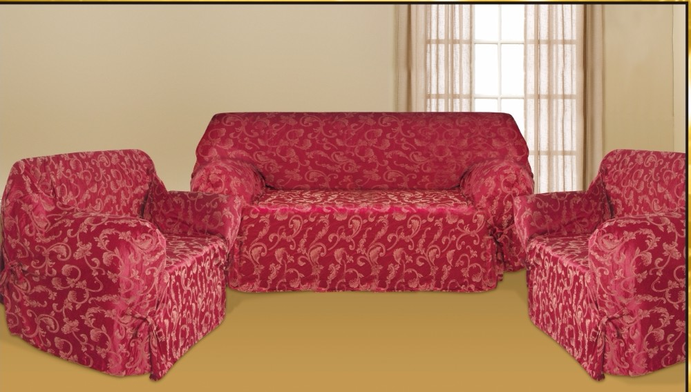 New Slipcover Stretch Sofa Cover Sofa With Loveseat Chair: Protective Sofa Cover,Luxury Jacquard Sofa Slipcover