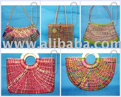NEW Natural Handcrafted Water Hyacinth HANDBAGS SHOULDER BAGS