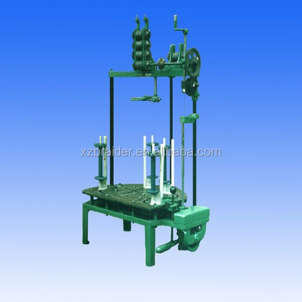 4 spindle flat leather belt braiding machine manufacturer