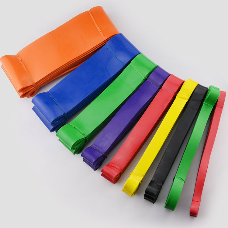 Best Fitness Exercise Elastic Latex Loop Exercise Bands for Working Out or Physical Therapy