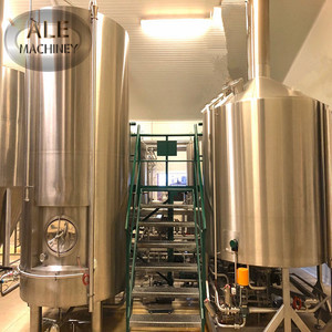 Gold supplier craft 100-50000L fresh beer brewing equipment production line
