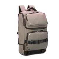 Canvas tablet travel backpack bag, school laptop brief pack day back sack bookbag rucksack daypack, notebook computer backpack