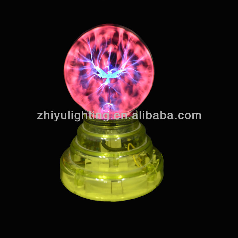 Mini high quality party decoration 3.5 inch plasma light, party lighting