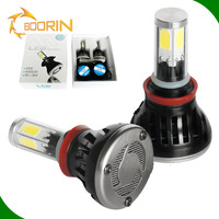 8000 lumens super bright 6000K high power mini 9006 hb4 h7 h11 h3 h1 led headlight bulbs all in one conversion kit headlamps