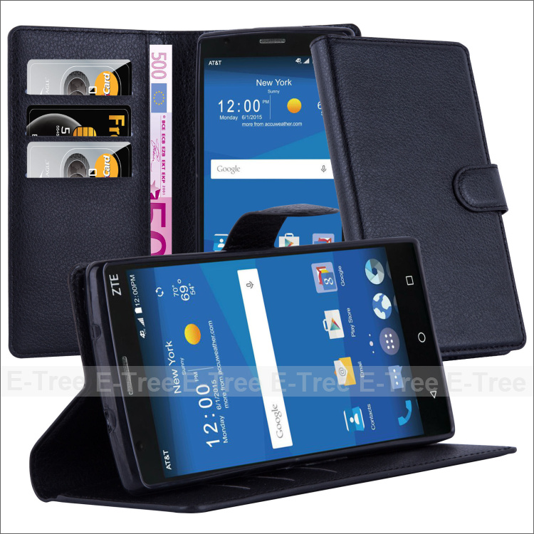 Flip cover case for zte grand x2, for zte grand x2 mobile phone stand wallet case