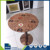 Hot sale CE certified laminate round wood dining table