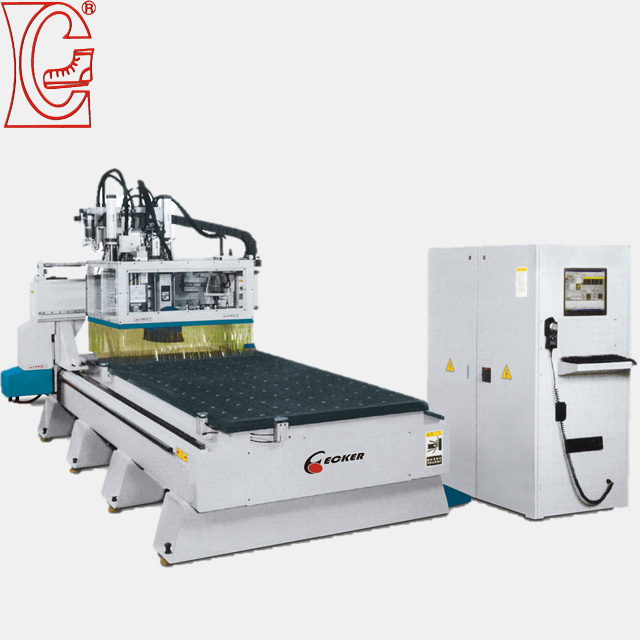 cnc router woodworking machinery by united chen