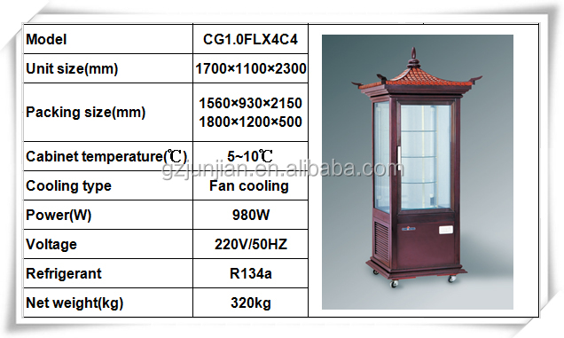Cake Showcase Products/used Display Cases For Sale /glass Display ...