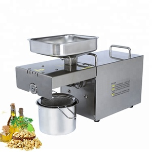 Professional home use hot/cold olive oil press machine