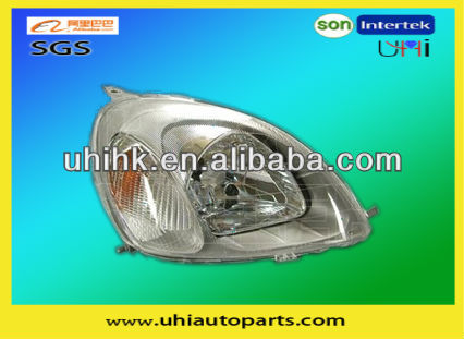 car body parts---headlamp for 99-02 vitz yaris