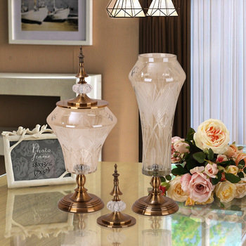 European Home Decoration Accessories Electroplated Glass Flower Vase For  Living Room - Buy Home Decoration Accessories,Electroplated Glass Flower ...