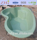 Preformed Fiberglass Pond for Ornamental Fish
