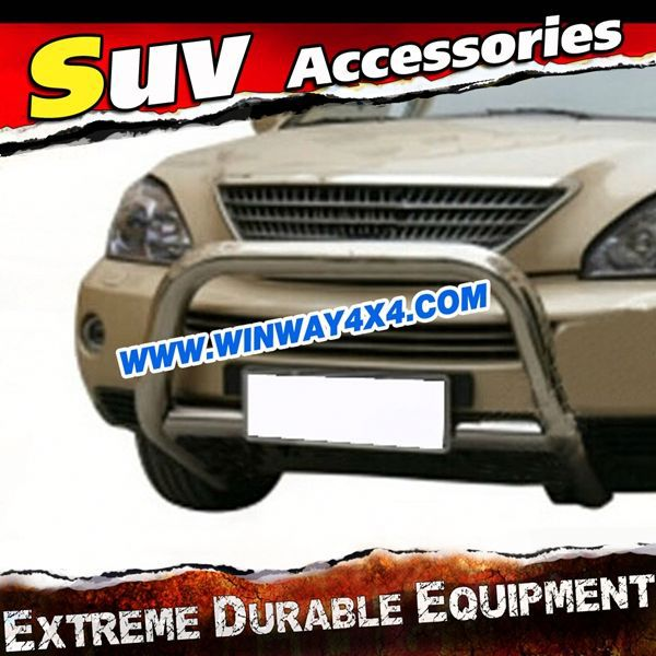 stainless steel front bumper for lexus rx400 2009