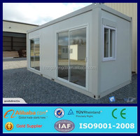 dubai prefab pre made shipping bunk container house villa for sale