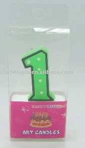 Party Number Birthday Candlenumber ShapedOneCandles